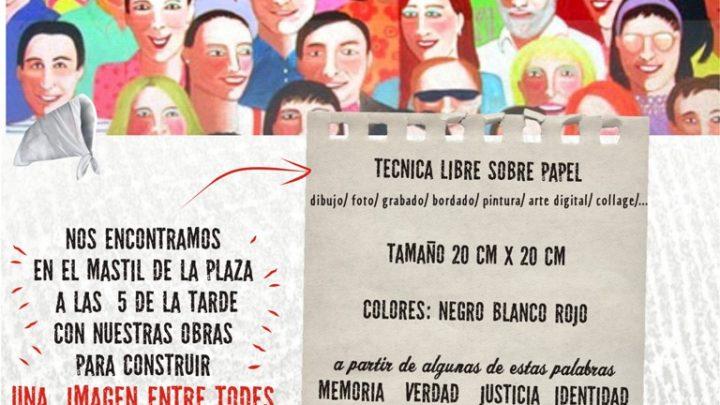 24  DE MARZO EN LA PLAZA DE CARPINTERIA «Memoria Visual» Convocatoria a artistas plásticos por el día de la memoria