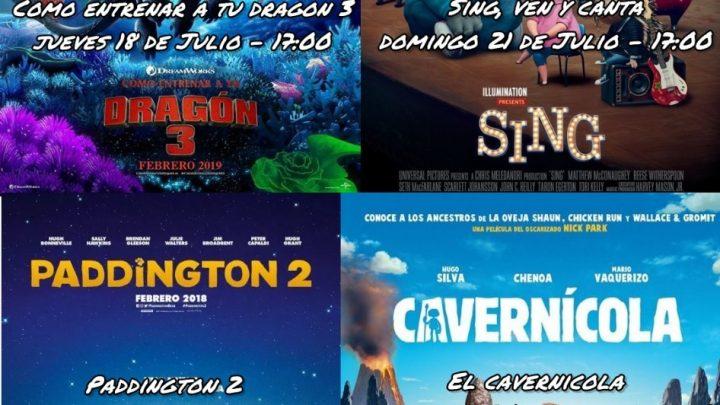 A LA GORRA Ciclo de cine infantil en Amigos de Merlo