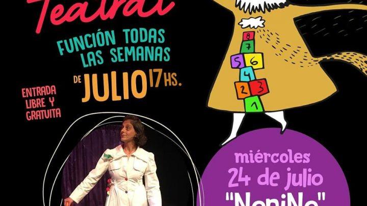 FUNCIONES EN LA CASA DEL POETA Y AMIGOS DE MERLO Teatro para bebés «NoniNo» con Belén Hillar