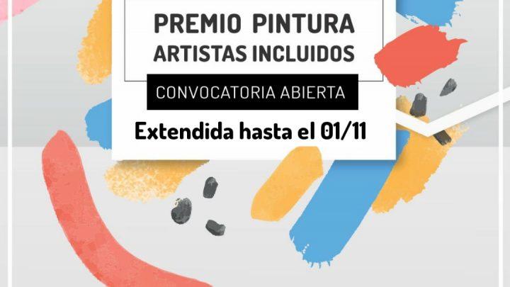 HASTA EL 1 DE NOVIEMBRE INCLUSIVE Se extiende el plazo para participar en el Premio Pintura «Artistas incluídos»
