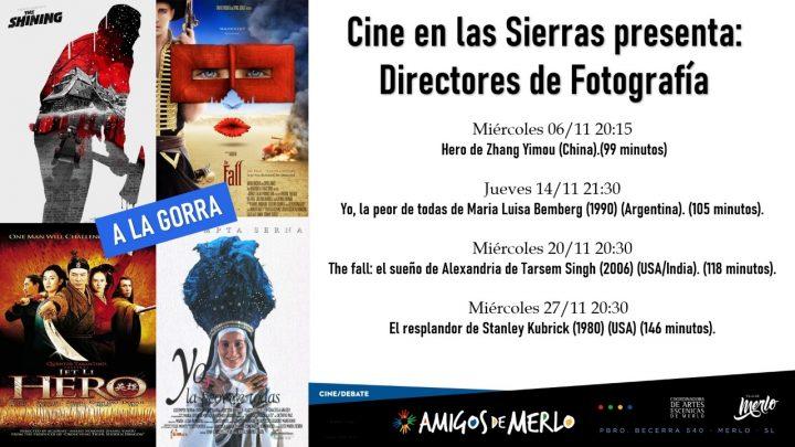 EN AMIGOS DE MERLO  Ciclo de Cine dedicado a la fotografía