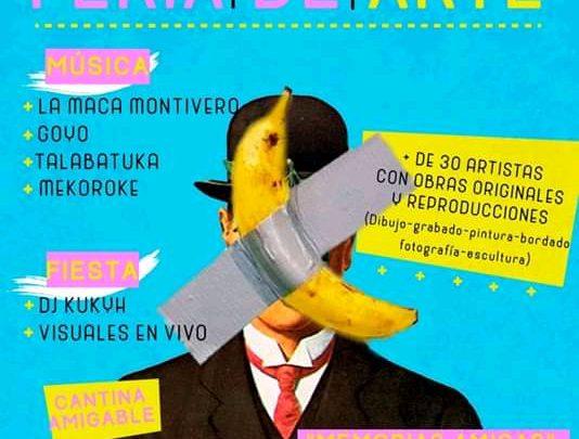 VIERNES 31 DE ENERO Feria de Arte y Festejo de Cumpleaños de Amigos de Merlo