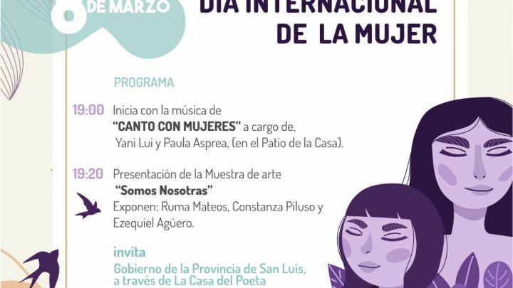 EVENTOS PARA REIVINDICAR LAS LUCHAS DE LAS MUJERES Día Internacional de la Mujer en la Casa del Poeta